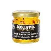 BOSCOVIVO | Miele d'Acacia con Tartufo (Acacia Honing met Truffel) | 240g