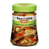 D'AMICO | Le Specialitá | Funghi misti alla Calabrese (Gemengde Paddestoelen uit Calabrië) | 280g