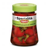 D'AMICO | Le Specialitá | Peperoncini Piccanti alla Calabrese (Hete Pepers uit Calabrië) | 280g