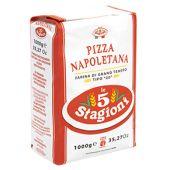 LE 5 STAGIONI | Farina di Grano Tenero Tipo 00 - PIZZA NAPOLETANA | 1Kg
