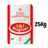 LE 5 STAGIONI | Farina di Grano Tenero Tipo 00 - PIZZA NAPOLETANA - 25KG