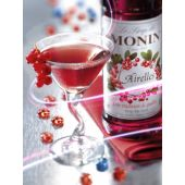 Le Sirop de MONIN | Airelles (Cranberry-Veenbessen Siroop) | 70cl
