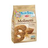 MULINO BIANCO | Molinetti con Farina Integrale e Grano Saraceno | 350g
