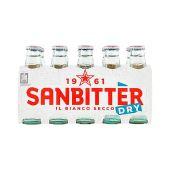 SAN PELLEGRINO | Sanbitter Dry| Italiaanse Alcoholvrije Aperitief | 10x 10cl