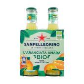 San Pellegrino | Aranciata Amara BIO | 4 x 20cl