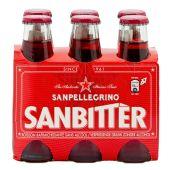 SAN PELLEGRINO | Sanbitter | Italiaanse Alcoholvrije Aperitief | Tray 6 x 10cl
