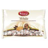 Witor's | White - Cioccolato Bianco Crema alle Nocciole e Cialda di Biscotto | 1Kg